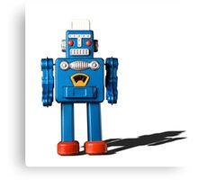 Azure robot Canvas Print