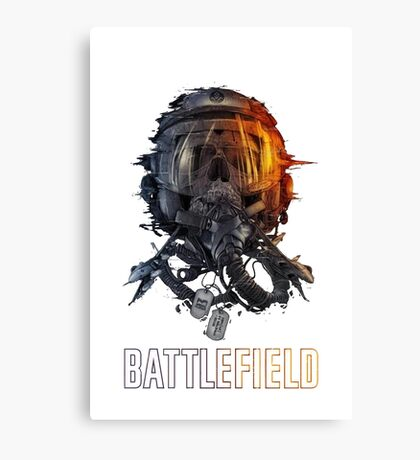 battlefield face Canvas Print