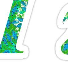 Pi Greek Alphabet Sticker