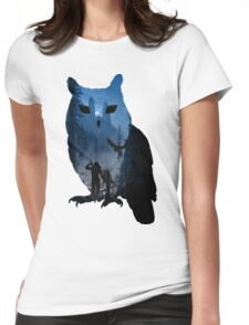 witcher school of the owl  Womens Fitted T-Shirt