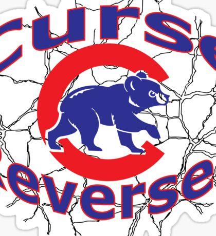 Cubs Curse shirt Sticker