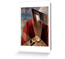 Going Back In Time Greeting Card