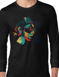 rossi face Long Sleeve T-Shirt