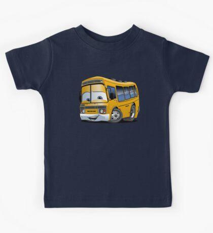 Cartoon School Bus Kids Tee