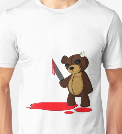 Psycho Teddy Unisex T-Shirt