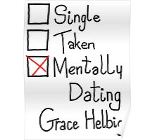 Mentally Dating Grace Helbig Poster