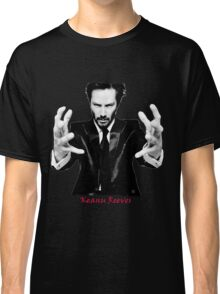 Keanu Reeves the Actor Black and White Classic T-Shirt