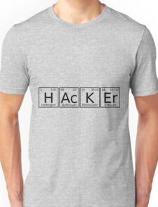Hacker chemical formula Unisex T-Shirt