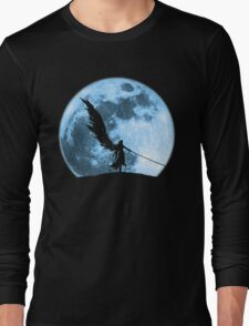 One winged angel in the night Long Sleeve T-Shirt