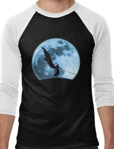 One winged angel in the night Men's Baseball ¾ T-Shirt
