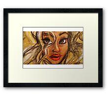Bey closeup Framed Print