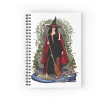 Moon Witch & Blue Dragon Spiral Notebook