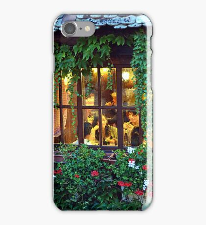 Spying Through The Window iPhone Case/Skin
