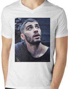 ZAYN MALIK - BOOK  Mens V-Neck T-Shirt