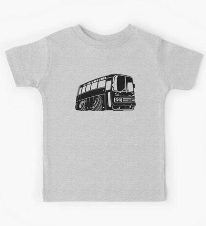 Cartoon bus Kids Tee