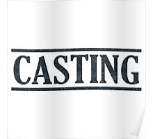 Useful Black Casting Poster