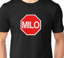 Milo Murphy's Law Stop Sign Unisex T-Shirt