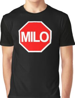 Milo Murphy's Law Stop Sign Graphic T-Shirt