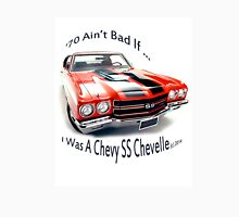 Birthday products for a 70 yr. old; Chevrolet Womens Fitted T-Shirt