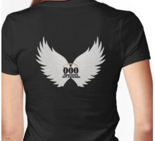 000 Dispatchers Are Awesome White Wings Womens Fitted T-Shirt