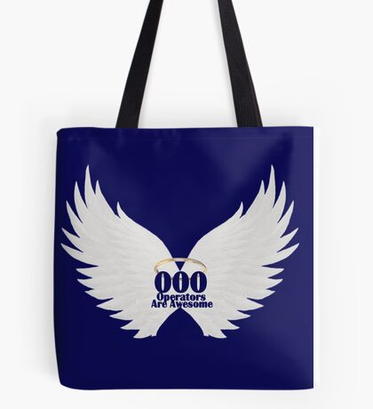 000 Dispatchers Are Awesome White Wings Tote Bag