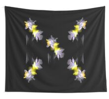 Cubist Daffodils Wall Tapestry