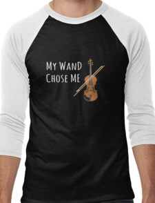 My Wand Chose Me Violinist Viola Violin Music Men's Baseball ¾ T-Shirt