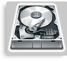 Hard Disk, Hard Drive, Computer, Storage, Files, Store Canvas Print