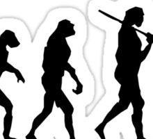 diver's evolution Sticker