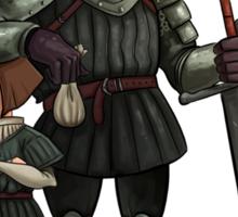 Arya and The Hound Sticker
