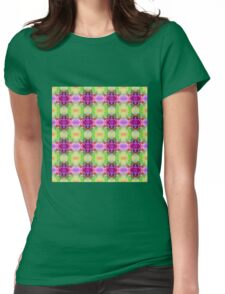 Purple Brush (VN.334) Womens Fitted T-Shirt