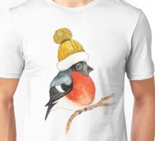 Christmas bird Bullfinch Unisex T-Shirt
