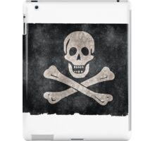 Jolly Roger Pirate Flag iPad Case/Skin