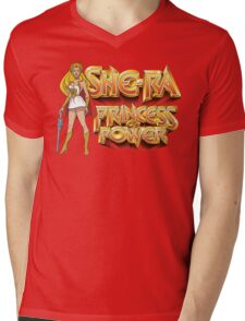 She-ra Princess of Power Mens V-Neck T-Shirt