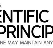 scientific principles, paradox - galileo galilei Sticker