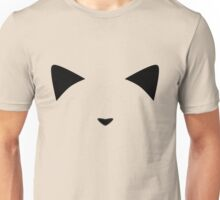Invisible Black Meow Unisex T-Shirt
