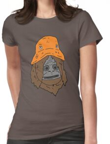 Sassy the sasquatch bucket hat Womens Fitted T-Shirt