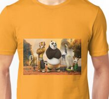 cartoon kungfu panda Unisex T-Shirt