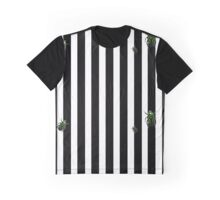 Striped and buggy. Graphic T-Shirt