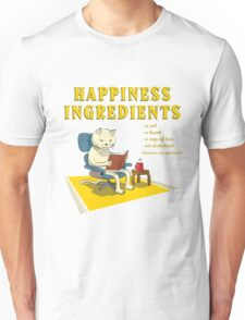 Happiness Ingredients Unisex T-Shirt