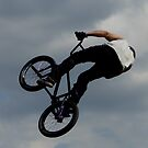 BMX - up to the clouds by Perggals© - Stacey Turner