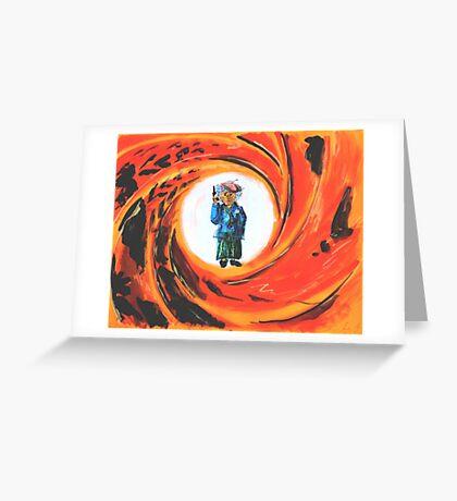 Yiddishe Mame Forever Greeting Card