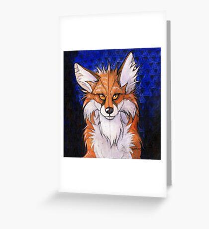 Fox Hypnosis Greeting Card