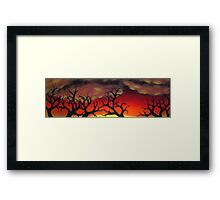 Treescape Framed Print