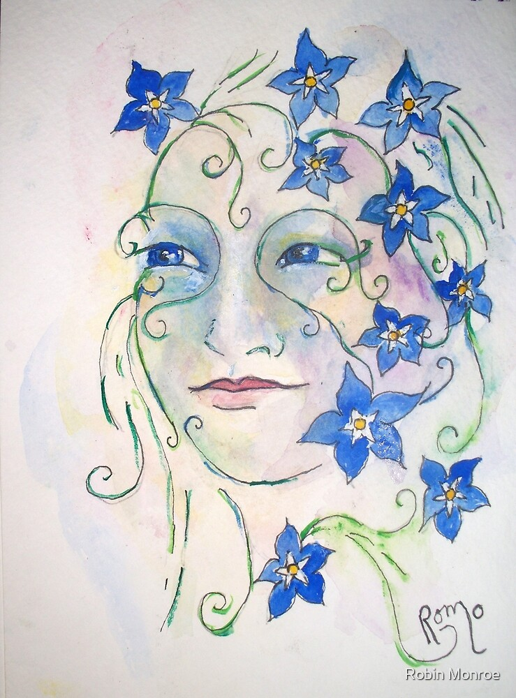 Forget-Me-Not -  by Robin Monroe