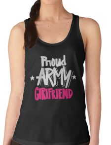Proud Army Girlfriend - Military Armed Forces Women's Tank Top