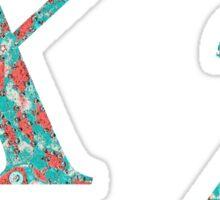 Chi Greek Alphabet Sticker