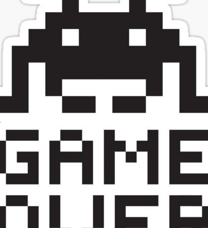 Game over / Pixel art invader Sticker