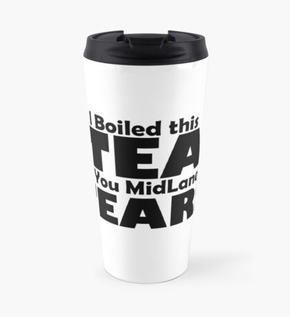 Bad Manners Mugs - White Travel Mug