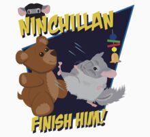 NinChillan - Finish Him! Kids Clothes